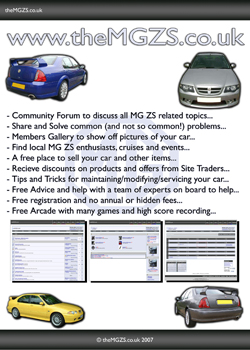 theMGZS co uk :: MG ZS forum - Flyer